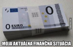 Aktuální finanční situace
