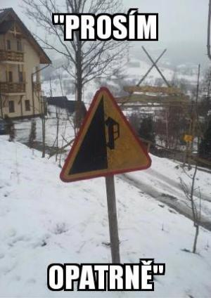 Opatrně