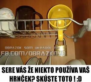 Jak vyřešit to, když vám někdo používá nádobí