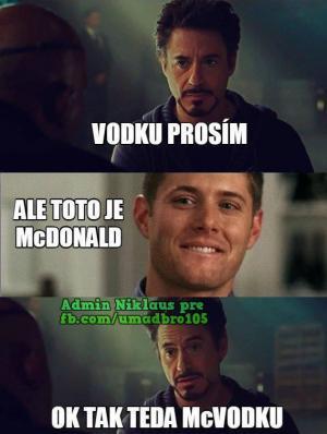 Vodku prosím