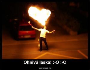 Ohnivá láska! :-O :-O