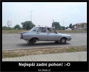 Nejlepší zadní pohon! :-O