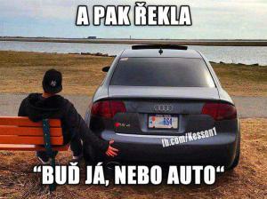 Já nebo auto!