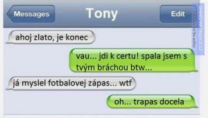 Nevěra přes SMS
