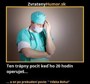 20 hodin operace