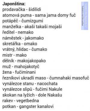 Japonština v kostce