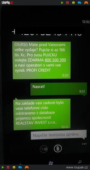 Reklama - SMS