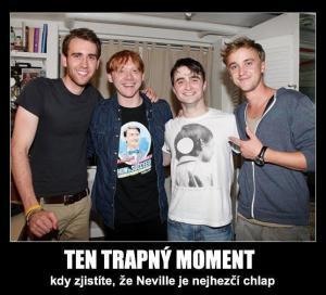 Ten trapný moment pro Harryho