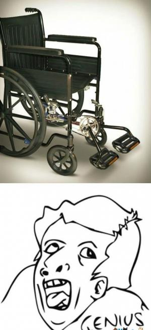 Šlapací vozík pro postižené