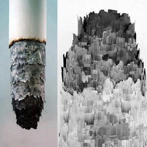 Cigaretové umění