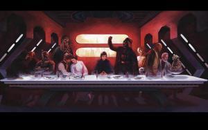 Poslední večeře podle Star Wars