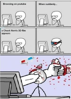 3D chuck norris