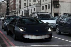Vysmáté auto