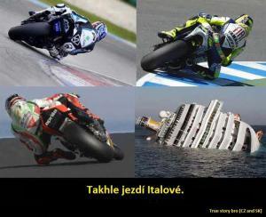 Jak jezdí Italové