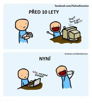 Vývoj pošty