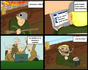 Jak zkazit válku
