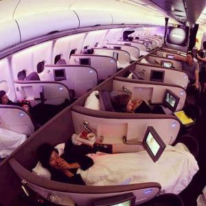 luxusní letadlo
