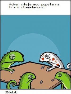 Hra pro chameleony