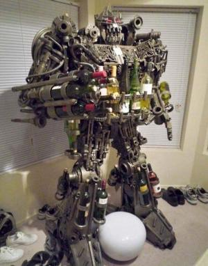 Robot na víno