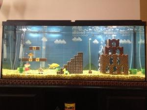 Mario akvárium