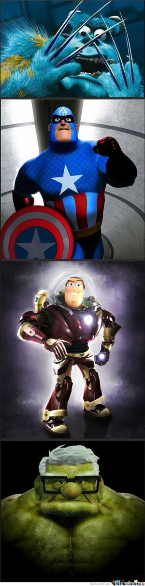 Toy Story + Avengers