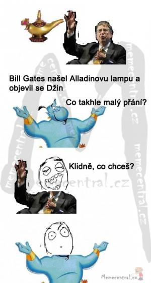 Džin a Bill Gates