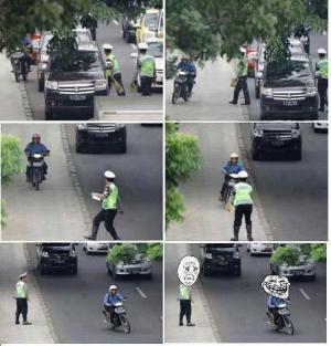 Jak utéct policii