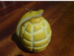 Citronový granát