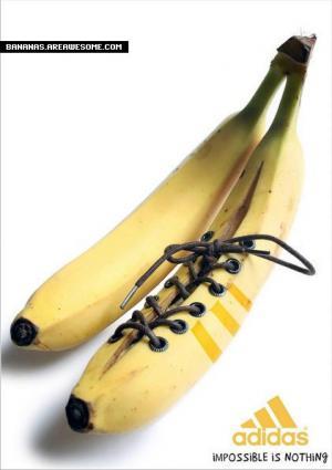 Adidas banán
