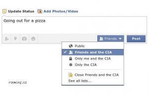 Novinka na FB