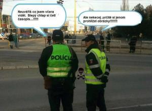 Policie ví všechno