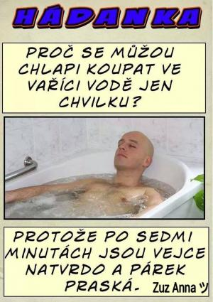 Muži ve vaně