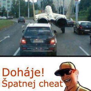 Špatný cheat