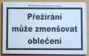Ministerstvo varuje
