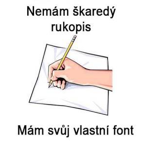 Nemám škaredý rukopis