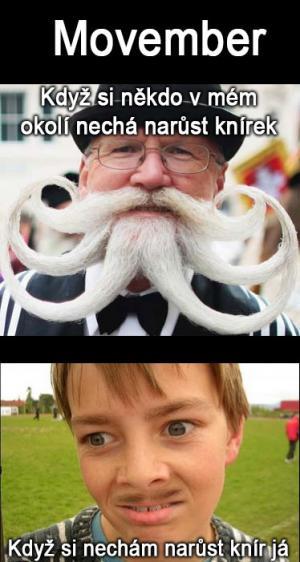 Movember a já