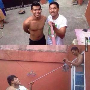 Originální selfie
