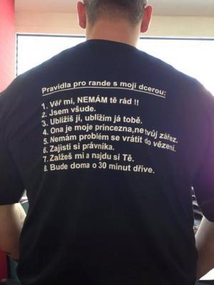Tatínkovo tričko
