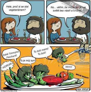 Šokující vegetariánství