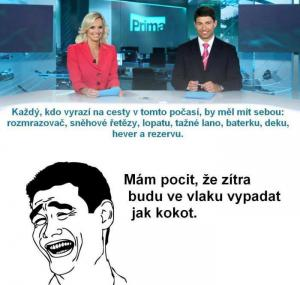 Zprávy v TV