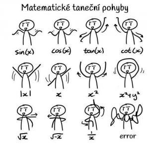 Matematické taneční pohyby
