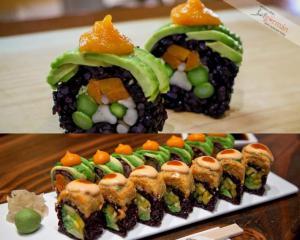 Sushi pro vegetariány