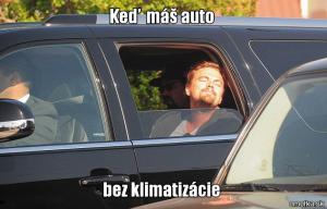 Auto bez klimatizace