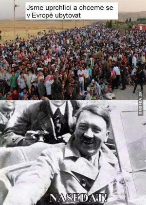 Hitler by to vyřešil