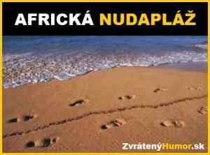 Africká nudapláž