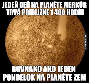 Pondělí na planetě Zemi