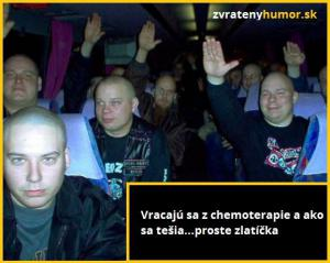 Štastní z chemoterapie