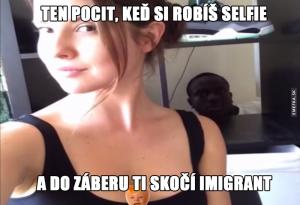 Když si děláš selfie