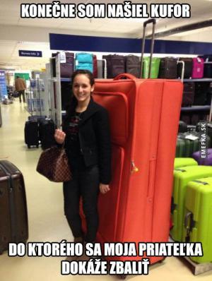 Konečně jsem našel správný kufr