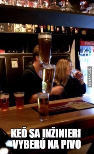 Inženýr na pivu